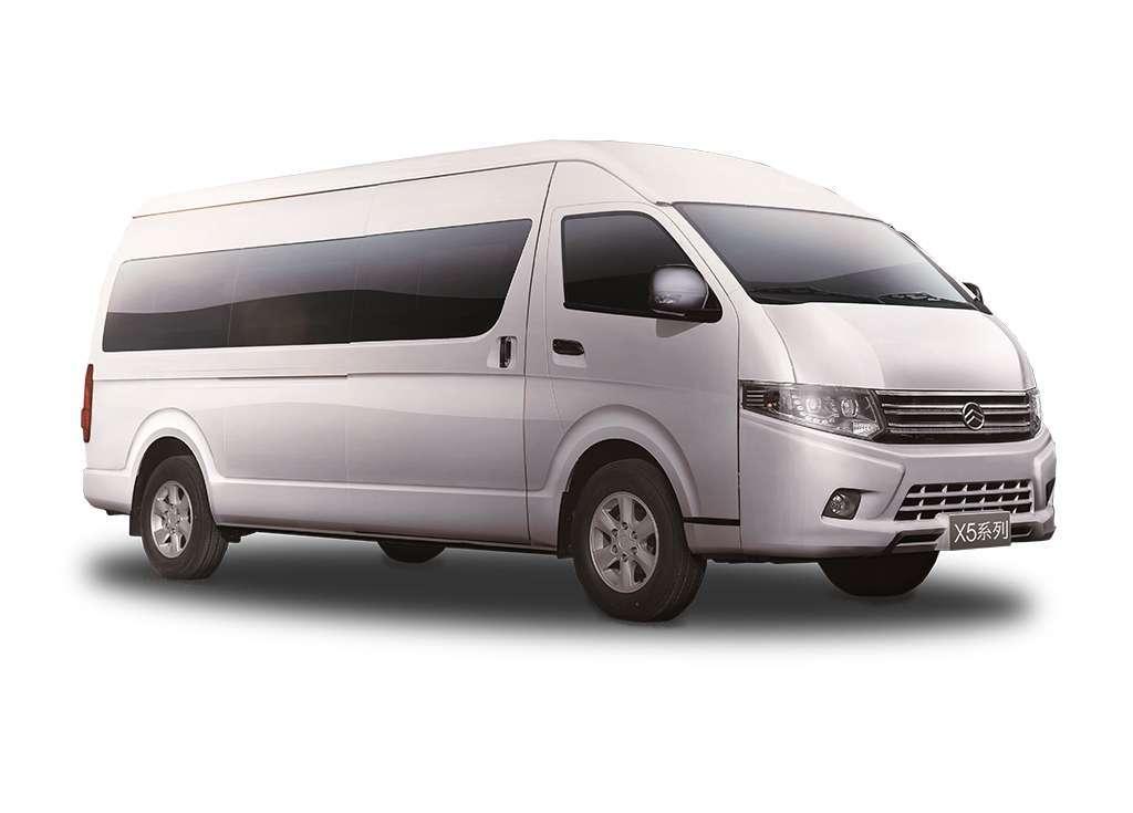 Microbuses Chinas en Costa Rica